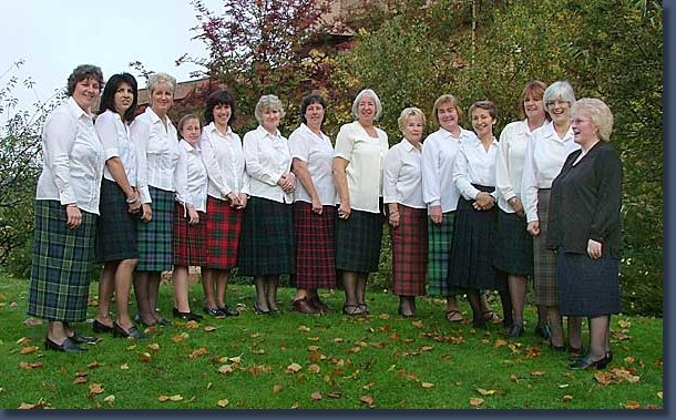 Mull Gaelic Choir Ladies 2004