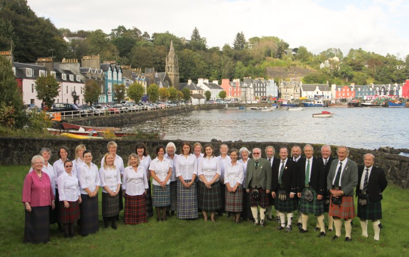 Mull Gaelic Choir at the Local Mod, Tobermory, September 2011
