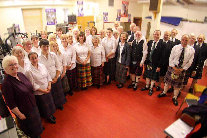 Mull Gaelic Choir at the Local Mod, Tobermory, September 2012