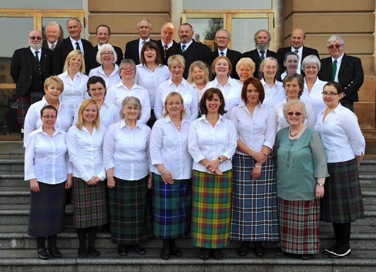 Mull Gaelic Choir at the National Mod October 2013