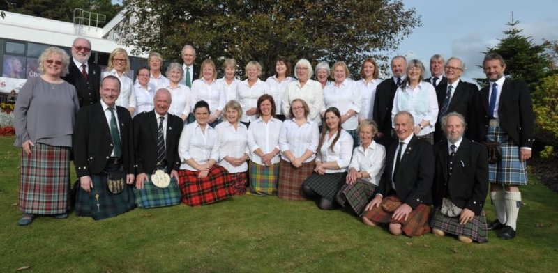 Mull Gaelic Choir at the National Mod October 2015